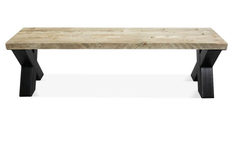 Bankje steigerhout