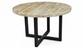 Ronde Tafel Steigerhout : Ronde tafel steigerhout industriele meubels